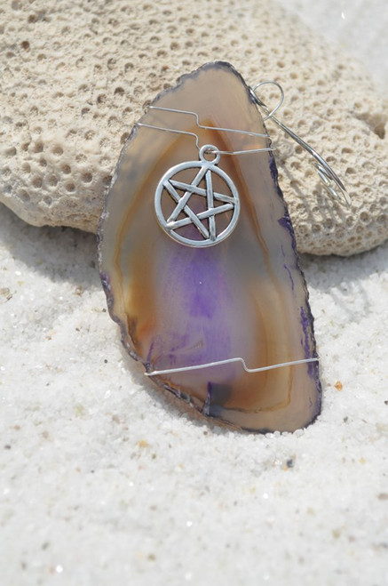 Pagan Wiccan Star  Ornament