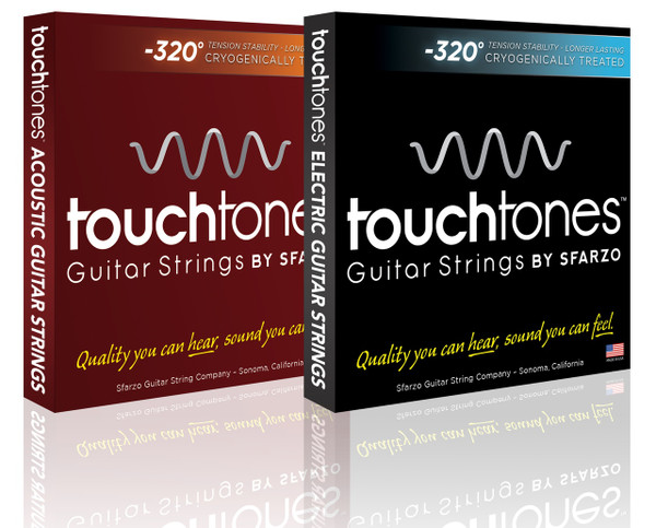TOUCHTONES - ACOUSTIC by Sfarzo Strings  -  CRYOGENIC FROZEN DURABILITY   LONGEVITY