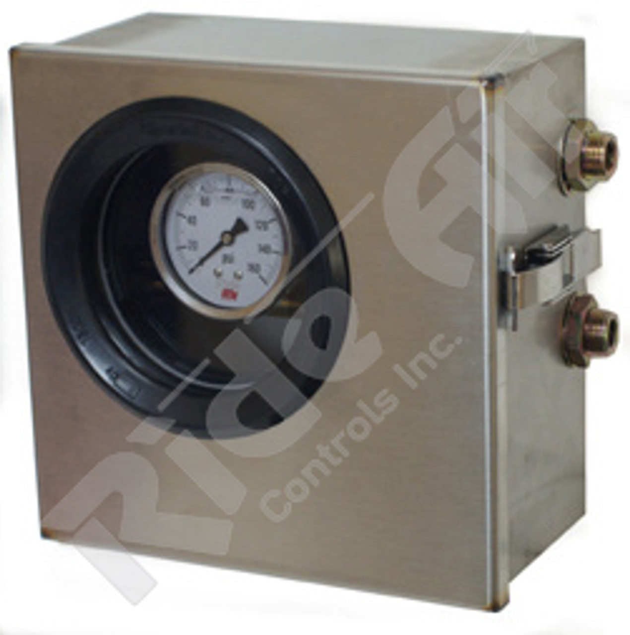 Stainless Steel Control Box W/Stainless Latch (RA014GLSW)