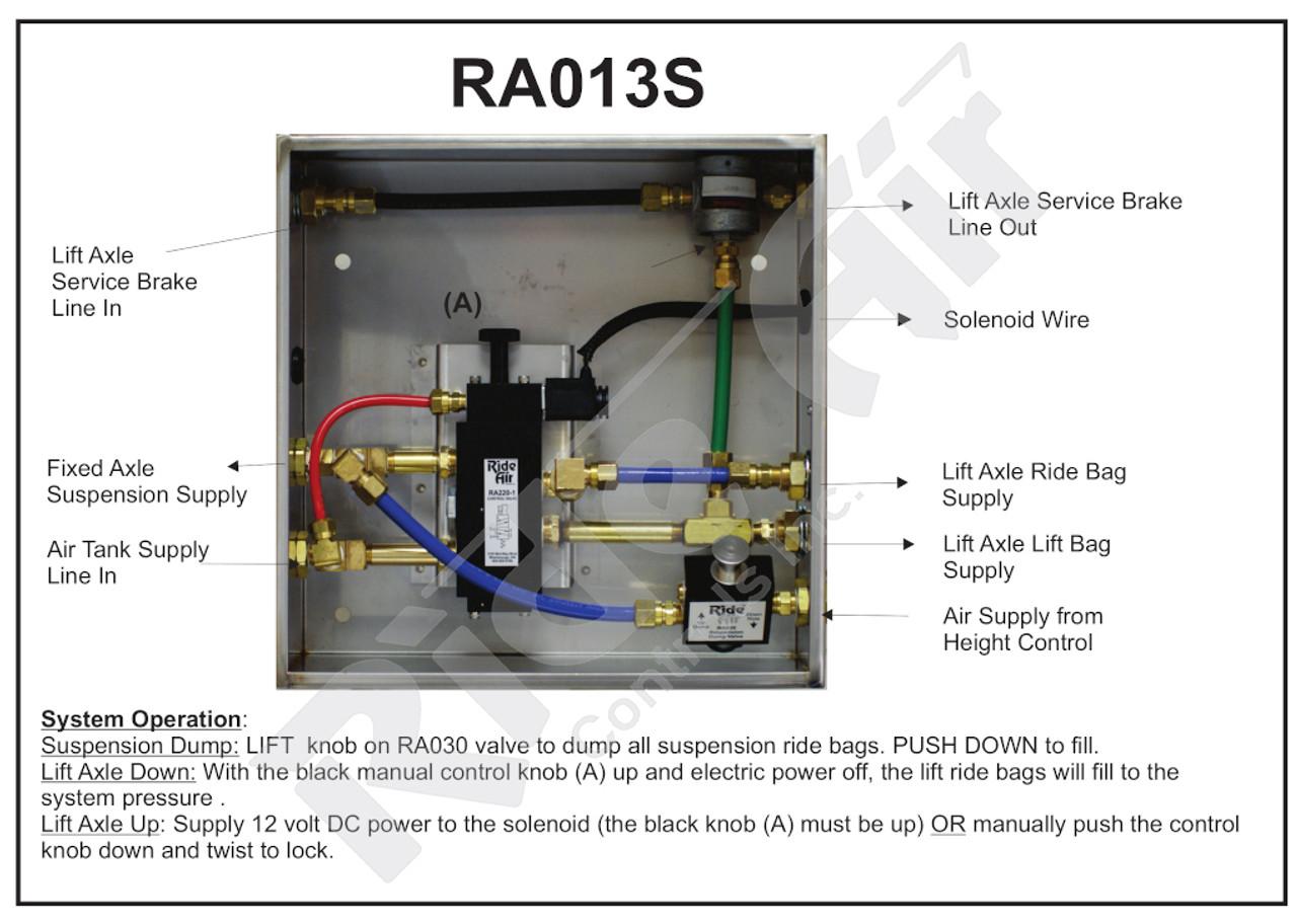 RA013S - Lift Axle Control Box (RA013S)