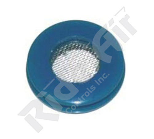 Blue Urethane Gladhand Seal W/Filter (RT36011F)