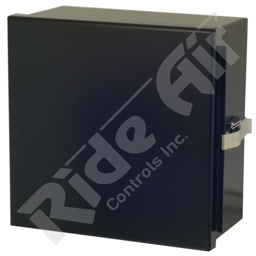 RA001T - Empty Box - 8x8 Dump Box,Black No Holes or Bracket