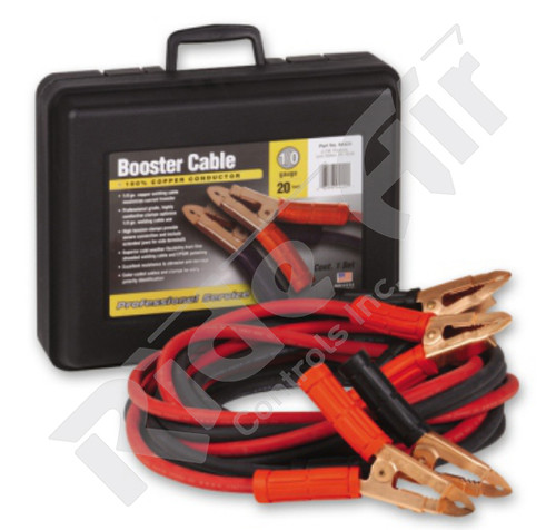 Heavy Duty Booster Cables (1/0 Gauge) (RE701/OBC-20E)