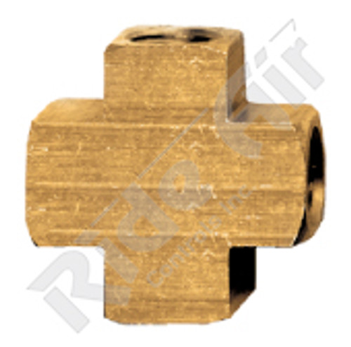 "Female Cross 1/4"" (102-B)"