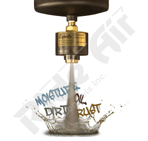 "Expello Automatic Electronic Drain Valve 12V 1/4"" (955112)"