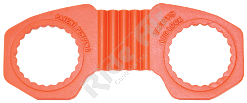 ZL-33 - Zafety Lug Lock - 33 mm Orange (ZL-33)