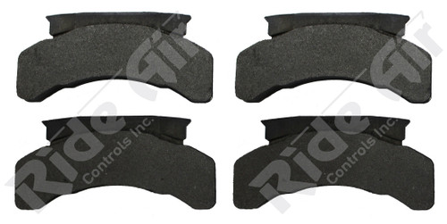 Vortex Brake Pad # 224 used on 55251 - NO HARDWARE (RADV224)