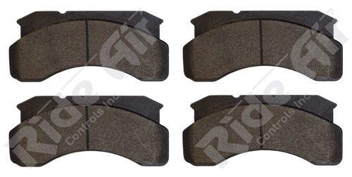 Vortex Brake Pad # 236 used on 55252 - NO HARDWARE (RADV236)