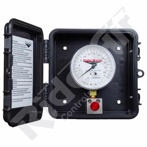 RW-310-80-PP - External Load Scale Analog Dry Series Tri-Axle (RW-310-80-PP)