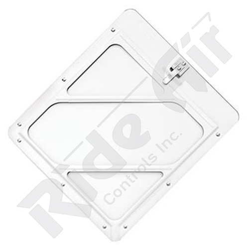 RA910W - Single Clip White Placard Holder (RA910W)