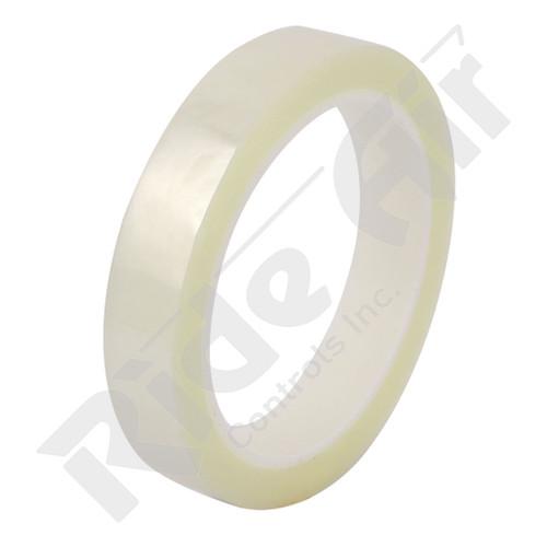 "RRM-1.5 - Mylar Tape Clear 1 1/2"" x 180 ft 32 rolls per case"