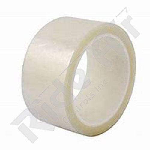 """RRM-4 - Mylar Tape Clear 4"""" x 180 ft 12 rolls /case"""