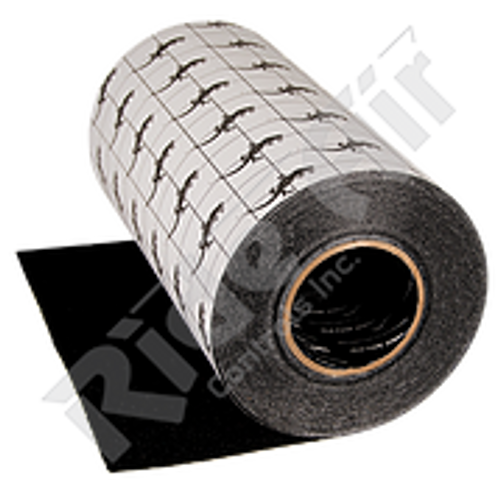 "RRG-12B - Anti-Slip Grit Tape 12"" Black 60 ft Roll"