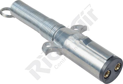 RP12-800 - Dual Pole Plug w/ Spring