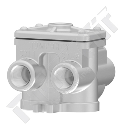 RA501-4A - 4-Way Air Piloted Valve