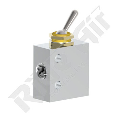 RA31V - Manual Toggle Air Valve
