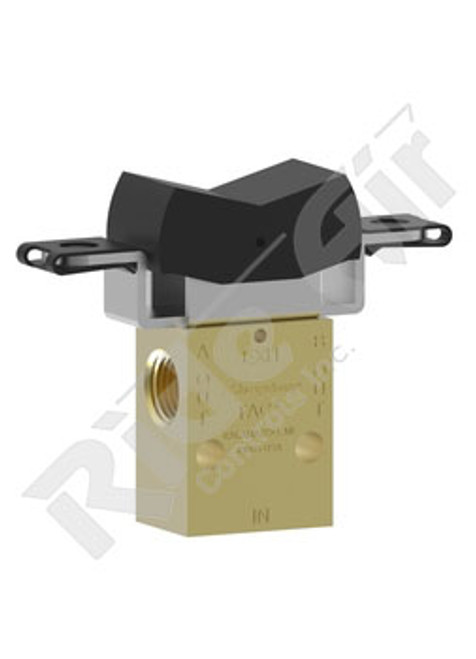 RA41R-D3 - 3 Position Rocker Switch - Detented