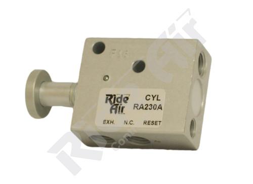 RA230A - Pin Lock Valve 3-way Auto Reset
