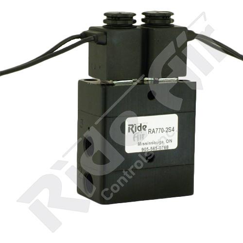 "RA770-2S4 - Dual Solenoid Poppet Valve - 1/4"" NPT"