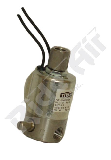RA760PP - Solenoid Valve - NO/NC 12VDC w/ Manual Override (RA760PP)