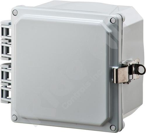 RA001P-060603 - Polycarbonate Box 6 x 6 x 3 w/o plate