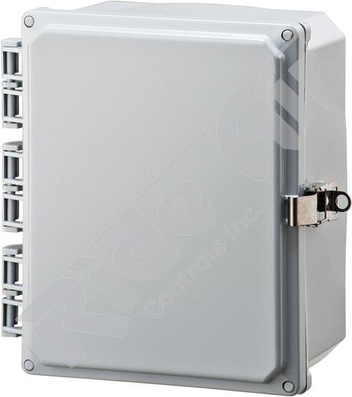 RA001P-100804 - Polycarbonate Box 10 x 8 x 4 w/o plate