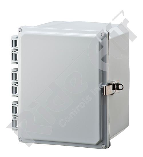 RA001P-100806 - Polycarbonate Box 10 x 8 x 6 w/o plate