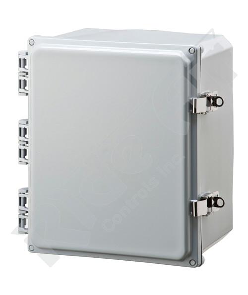 RA001P-121006 - Polycarbonate Box 12 x 10 x 6 w/o plate
