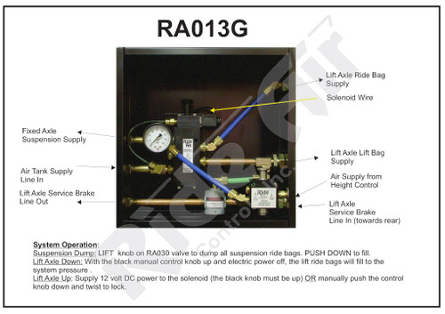 RA013G - Lift Axle Control Box (RA013G)