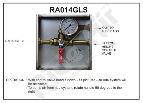 RA014GLS - Suspension Dump Box (RA014GLS)