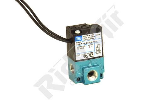 """35A-AAA-DDBA-1BA - 3/2 1/8"""" SGL SOL 12VDC MAC Valve (35A-AAA-DDBA-1BA)"""