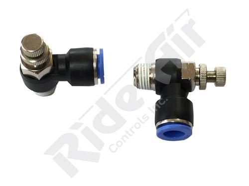 "AS2201F-N02-07 - Flow Control Valve 1/4"" NPT 1/4"" Tube - Composite"