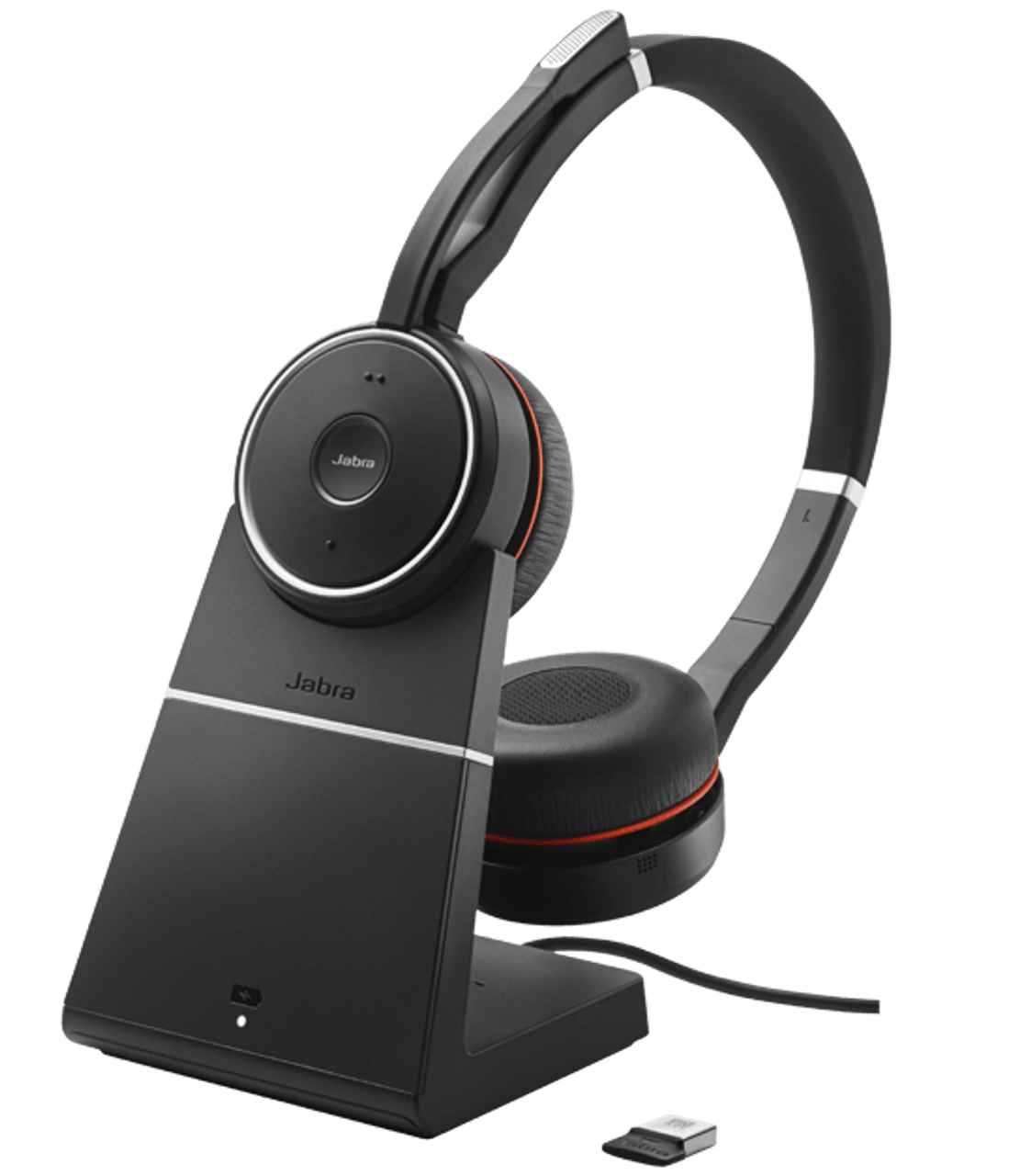 Jabra Evolve 75 Stereo Ms W Charging Stand