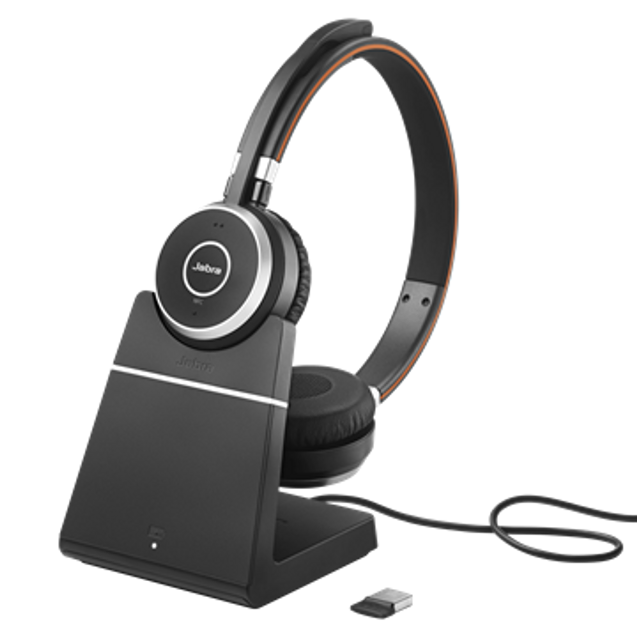 Jabra Evolve 65 Stereo Ms W Charging Stand