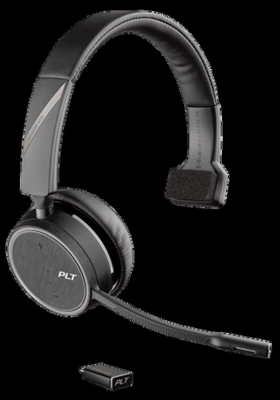 Plantronics Voyager 4210 Uc Usb C Single Ear Bt Wireless Headset 211317 102
