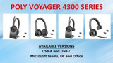 What's New with Bluetooth Office Headsets?  Poly Voyager Series!!