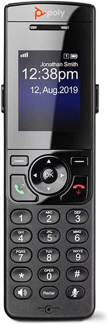 Poly Handset Accessory for VVX D230 DECT IP Cordless Phone (2200-49235-001)