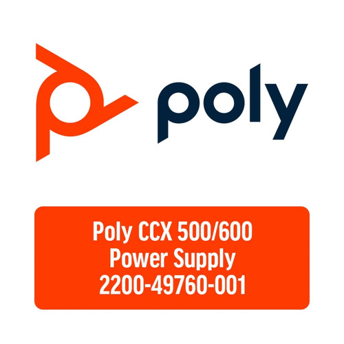 Poly Universal AC Power Adapter for CCX500/600 (2200-49760-001)