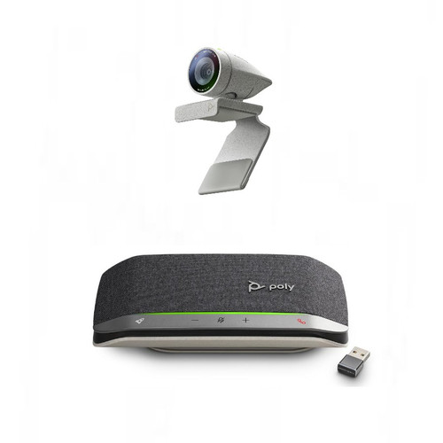 Poly Studio P5 Webcam with Poly Sync 20+ Speakerphone Kit