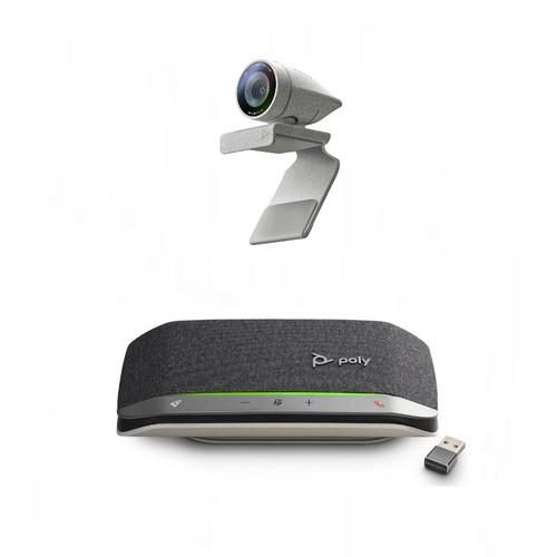 Poly Studio P5 Webcam with Poly Sync 20+ Speakerphone Kit