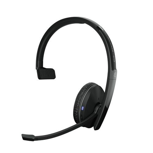 EPOS ADAPT 230 Bluetooth Mono Wireless Headset w/ USB-A Dongle (EP1000881) MS Teams certified