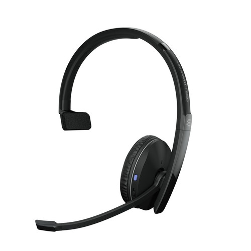 EPOS ADAPT 231 Bluetooth Mono Wireless Headset w/ USB-C Dongle (EP1000881) MS Teams certified