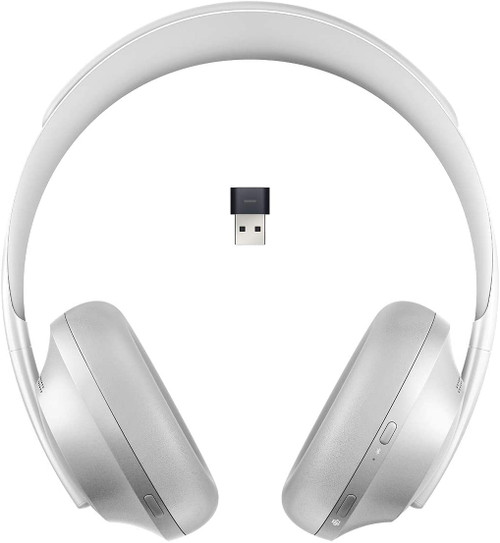 Bose 700 UC NC Wireless Headphone, Silver w/ USB Dongle (85226-0300)
