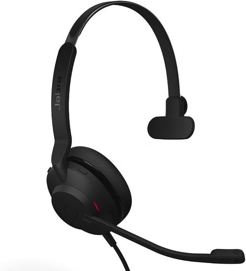 Jabra Evolve2 30 Corded Headset USB-C MS Teams, Mono (23089-899-879)