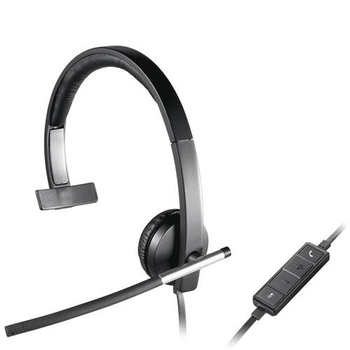 Logitech H650e Mono USB Headset Over the head wearing style (981-000513)