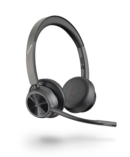Poly Voyager 4320-M UC USB-C Wireless Headset-No Charging Stand, MS Teams (218478-02)