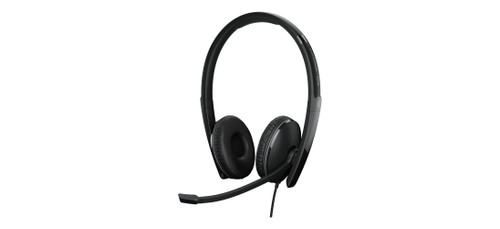 Epos Adapt 160 ANC USB-A Dual Ear Headset (1000218), Front view