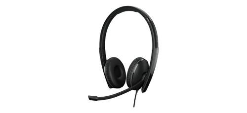 Epos Adapt 160 ANC USB-C Dual Ear Headset (1000218), Front view