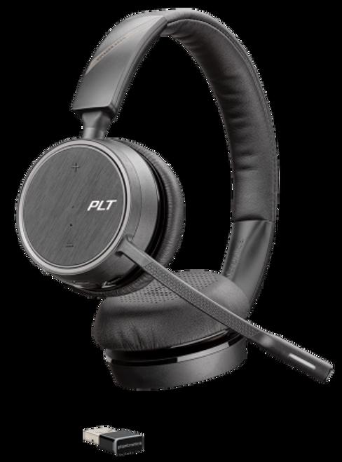 Voyager B4220 USB-A Bluetooth Wireless Headset Dual Ear