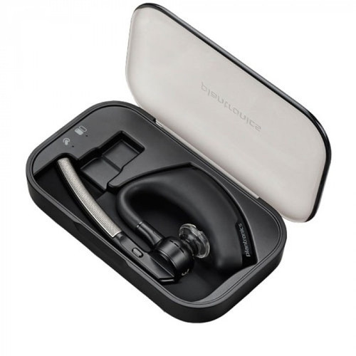 89036-01 Plantronics Voyager Legend Portable charge case with micro USB charging cable.